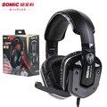 Somic G909 Pro 7.1 Juego FPS Gaming Auriculares Con Cancelación de Ruido Auriculares con Función de Vibración Con Rotativo MIC para la computadora