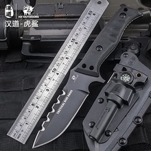 D2 steel Pocket Knife Outdoor survival tactical knife Fixed Blade Tool Camping knives karambit hunting knife