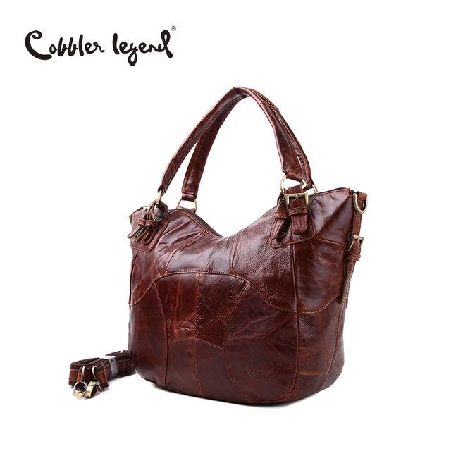 f0d09b5f28 Cobbler Legend Fashion Brand Designer 2016 New Luxury Genuine Leather Women  Shoulder Messenger Bag For Lady Female Bag Handbags