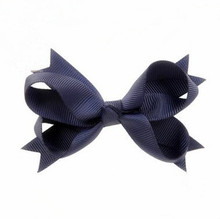 100pcs/lot Wholesale Boutique Dovetail Classic Westen Fashion Hair Bow For Girls With Clip