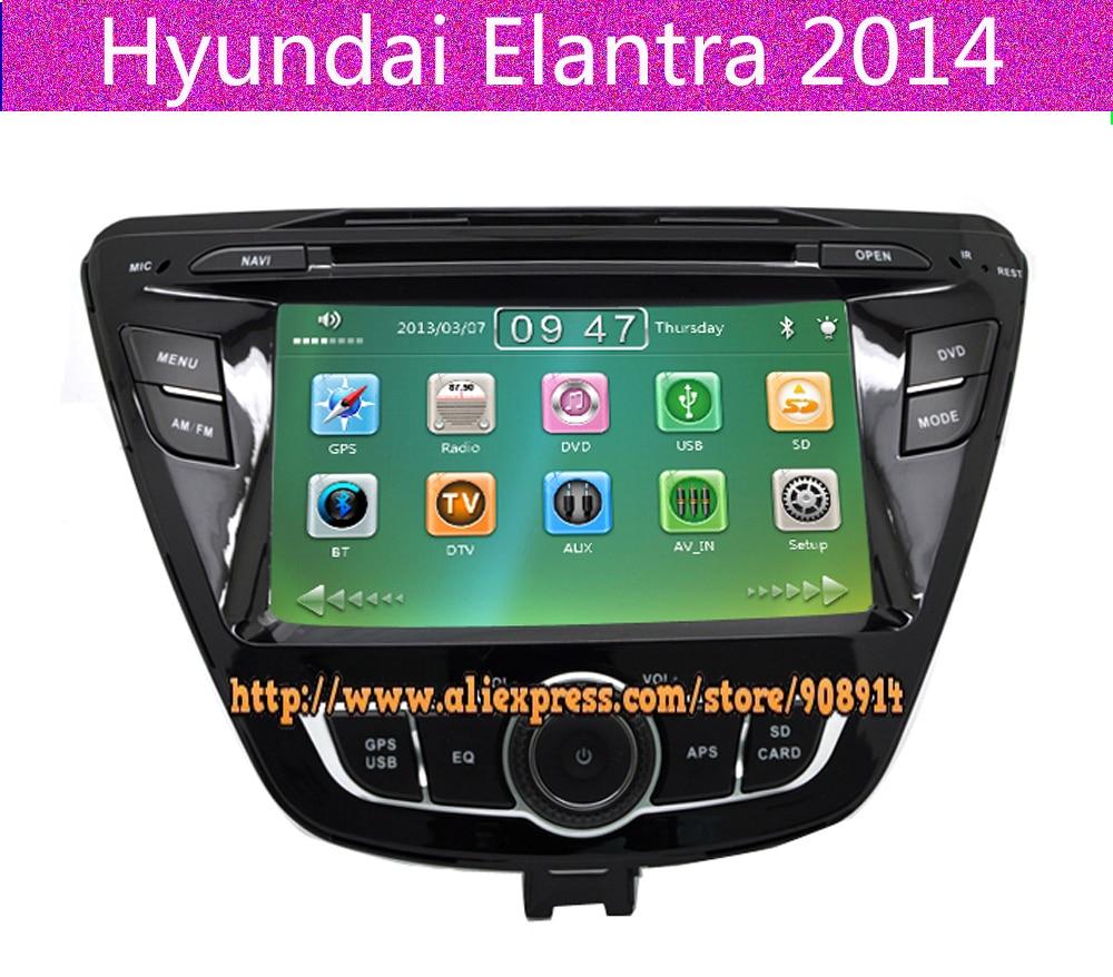 free shipping car dvd gps navigation for hyundai elantra. Black Bedroom Furniture Sets. Home Design Ideas