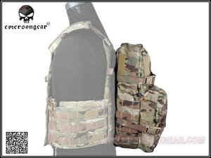 Image 2 - Equipo militar del ejército EMERSON, mochila de juego de guerra de senderismo, mochila de asalto Modular con bolsa de hidratación de 3L EM5816