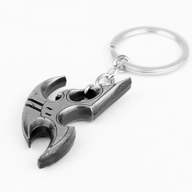 M2 New Arrival StarCraft 2 Protoss Logo Keychain Alloy Keyring 2 Colors For Choosing For Men's Gift Accessories Drop Shipping 5