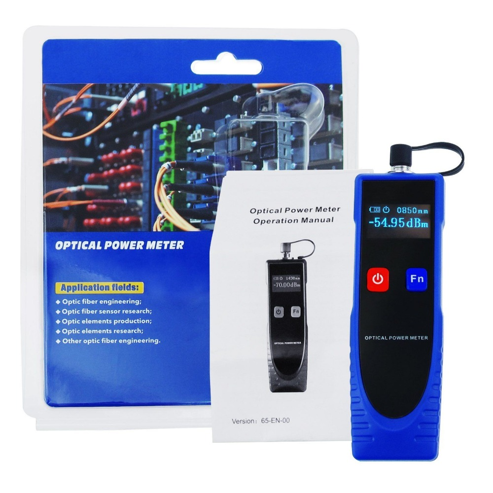 Jyttek Fiber Optic Cable Tester Power with 6 Optic Wave Length