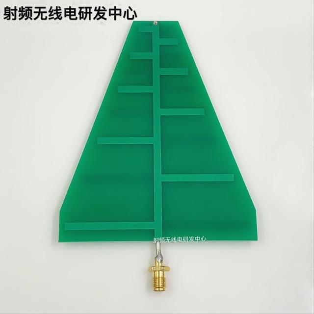 מיו 1 pc UWB במיוחד Wideband לוגריתמים מחזור אנטנת 1.35 ghz 9.5 ghz