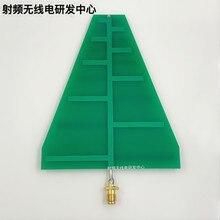YENI 1 ADET UWB Ultra Geniş Bantlı Logaritmik Döngüsü Anten 1.35 GHz 9.5 GHz