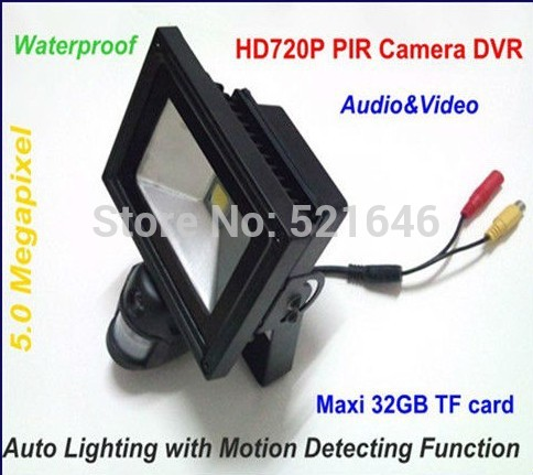 New arrival 32g tf card slot pir motion detection flood light camera new arrival 32g tf card slot pir motion detection flood light camera cctv home security system aloadofball Image collections