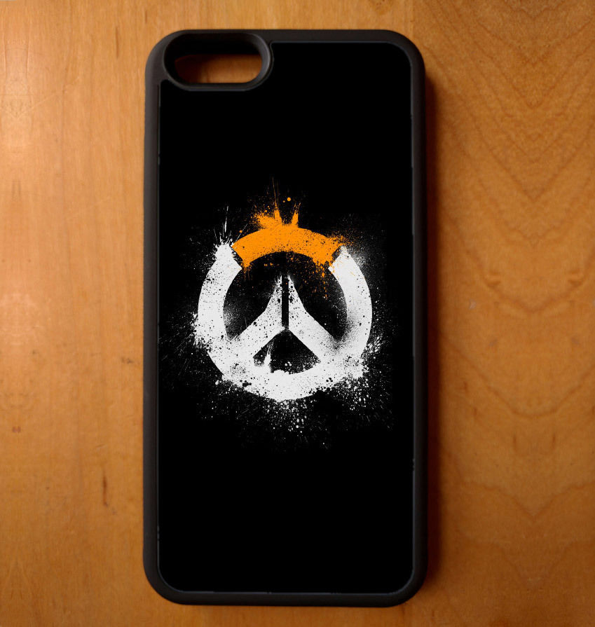 Overwatch Symbol.jpg fashion cell phone case cover for iphone 4 4s 5 5s 5c SE 6 6s plus 7 7 plus &mm359
