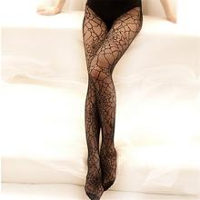 ef46edbe6fa20 HimanJie Lace Stockings Spider Web Tights Halloween Witch Fancy Dress  Costume Pattern