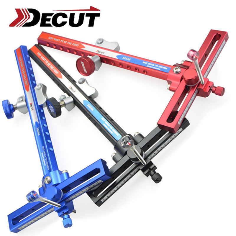 1Set Archery Recurve Bow Sight Support With Single Scope Pin Sight Bow Sights Recurve Bow Outdoor