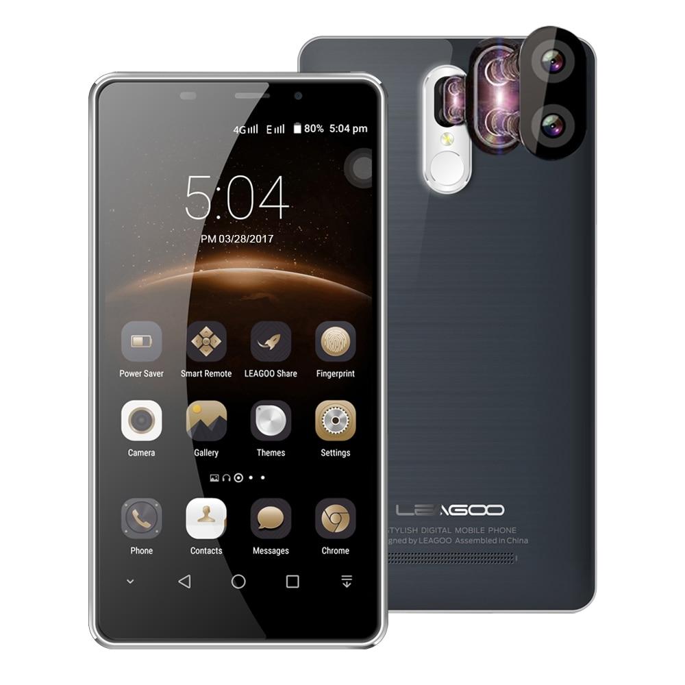 bilder für Original leagoo m8 pro 4g android 6.0 smartphone 5,7 zoll MTK6737 Quad Core 1,3 GHz 2 GB + 16 GB 13.0MP Cam Fingerabdruck Mobilen telefon