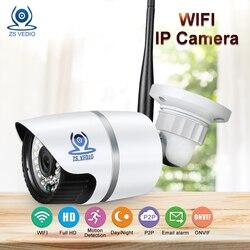 ZSVEDIO наблюдения Камера s Беспроводной IP Камера CCTV Камера WI-FI IP Камера s Открытый Водонепроницаемый HD ИК Ночное видение устройства веб-камера