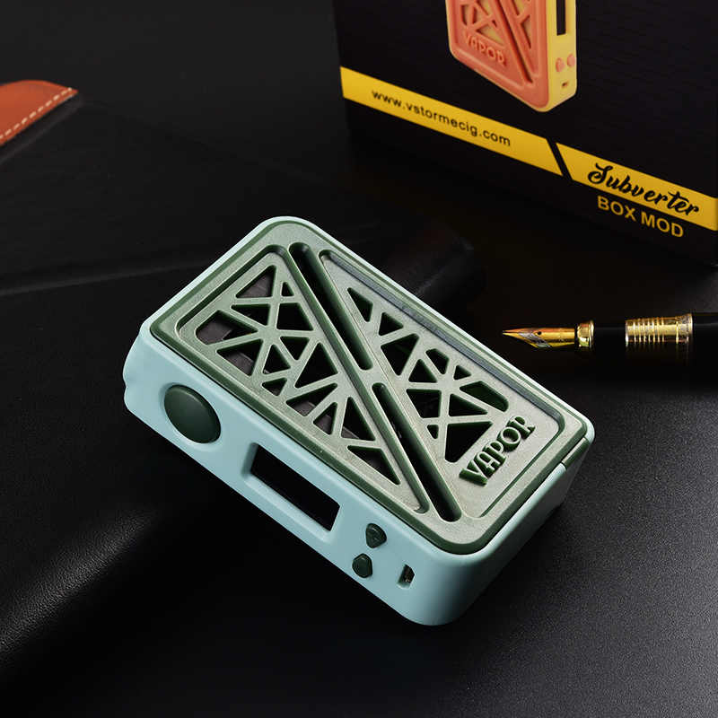 2018 100% Orginal Vapor Storm Subverter 200W Box Mod hollow-carved e-cigarette mod TC TCR curve mode Electronic cigarette
