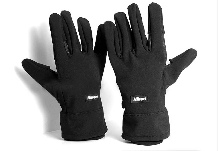 Photography Winter Gloves Mittens For Nikon Camera / Canon
