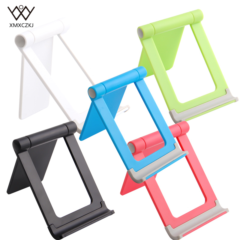 Portable Mobile Phone Holder Stand For IPhone XS X 8 7 6 Foldable Mobile Phone Stand For Tablet Stand Desk Phone Holder Support