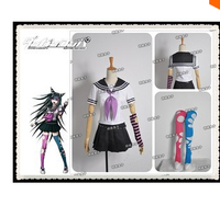 Anime Danganronpa Dangan Ronpa Ibuki Mioda Cosplay Costume for woman Custom Made Free Shipping