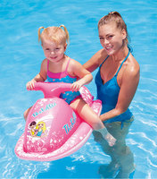 For Children Ec0 friendly PVC Inflatable Motorboat Summer swimming water floating sports toys