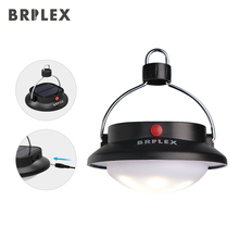BRILEX Portable Lanterns LED Solar Lantern Rechargeable Dimmable and Waterproof USB Charging Phones.