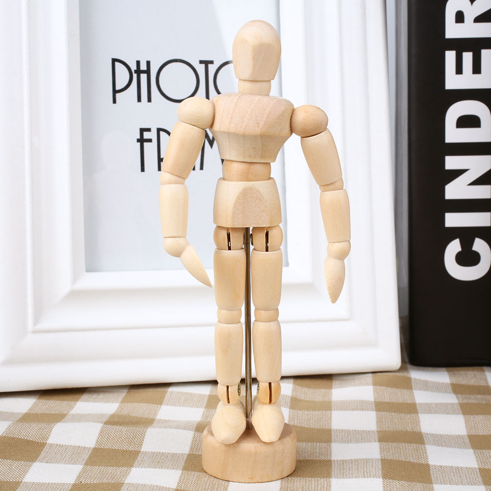 Adjustable Human Figure Unisex Drawing Model Craft Home Decor Supplies