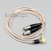 Hi Res Silver Plated XLR 3.5mm 2.5mm 4.4mm Earphone Cable For Audeze LCD 3 LCD3 LCD 2 LCD2 LN006381