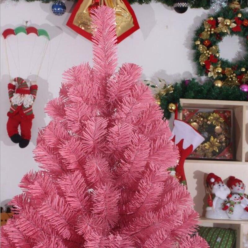 Rosa Weihnachtsbaum.Us 69 3 10 Off 1 2 Mt 120 Cm Verschlüsselung Umweltfreundliches Material Pvc Rosa Weihnachtsbaum Dekoriert New Year Lieferungen Mall Hotels Za1483