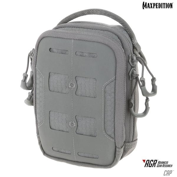Maxpedition CAPGRY Compact Admin Pouch - Gray ибп apc by schneider electric smart ups c 1500 smc1500i 2u