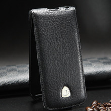 Luxury Cow Genuine Leather Flip Cover case for Apple IPhone 5S 5 Leather Case IPhone SE Case