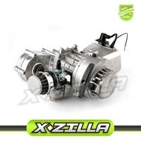 2 Stroke Dual Chain 43cc 47cc 49cc Two Strokes Engine Motor for Dirt Bike Mini Motor PitBike Alloy Pull Starter ATV dropshipping