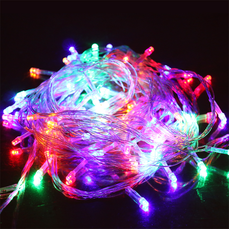 Led Lights Flasher Festive Christmas Decoration Lamp Holiday Lighting String Light Mantianxing Neon Waterproof In From