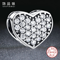 New Fashion Real 925 Sterling Silver Forever Friends Beads Charms fit Pandora Bracelets Necklace Friendship Gift