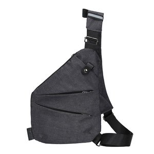 Fengdong جديد مكافحة سرقة قماش حقيبة صدر للرجال الرجال الرياضة واحدة الكتف حقائب السفر عبر الجسم حزمة للرجل الأسود bolso hombre