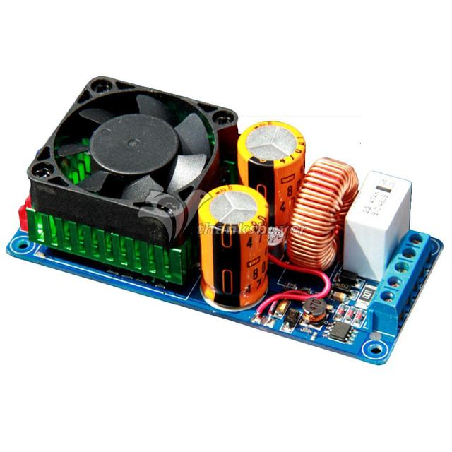 US $30 48  IRS2092S High Power Class D 500W HIFI Single Channel Audio  Amplifier Board Better than LM3886 for DIY-in Amplifier from Consumer