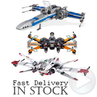 LELE Star Wars The Clone Wars ARC 170 Starfighter Set 8088 Building Blocks Bricks Educational Kids
