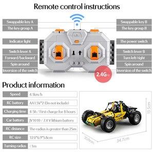 Image 4 - 522 個 2.4 2.4ghz テクニック rc 全地形オフロードクライミングトラック車オフロードレースのビルディングブロックレンガの子供のおもちゃ