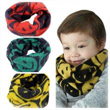 Best Price! Autumn Winter Boys Girls Baby Scarf Cotton O Ring Neck Scarves  Cotton Material Wonderful gift for you Vicky