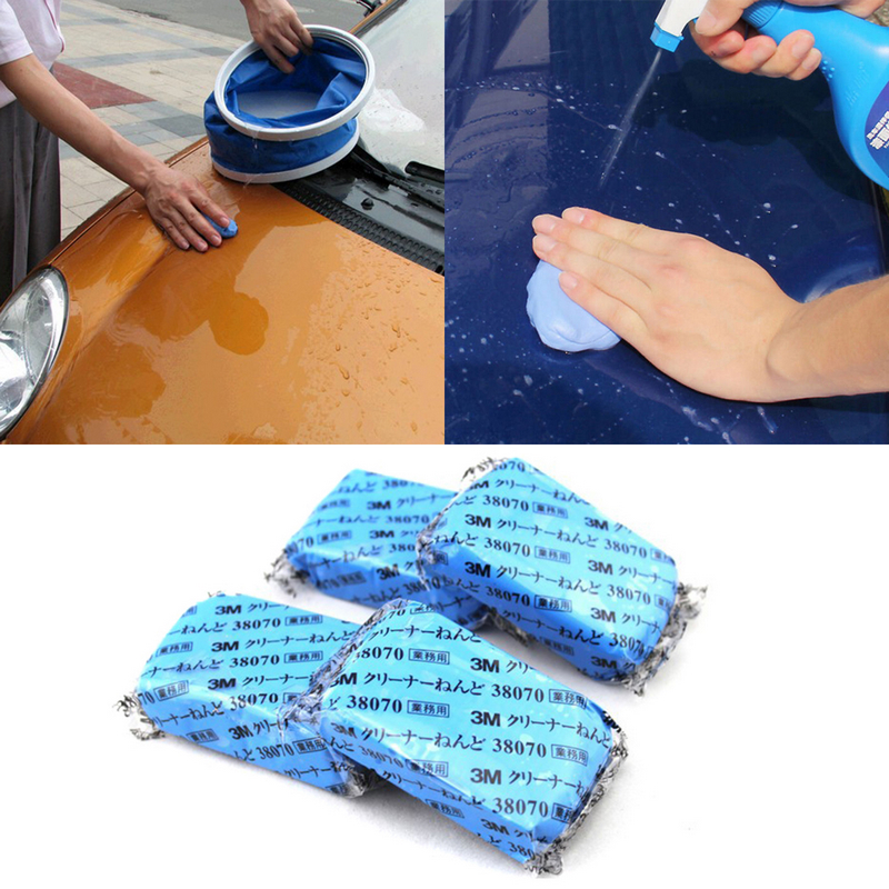 1pc Auto Magic Clay Bar Car Auto Cleaning Remove Marks Detailing Wash Cleaner Car Wash Accessories