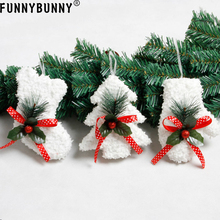 FUNNYBUNNY Christmas foam small pendant tree socks gloves Party decoration Supplies