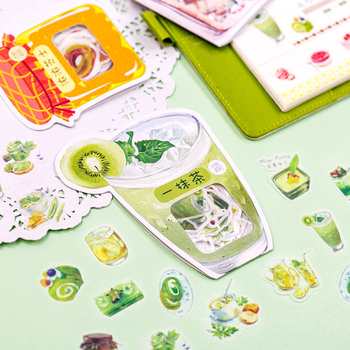 40pcs/bag Creative delicious food Series mini paper sticker Decoration DIY Scrapbooking Sticker Stationery kawaii label stickers 40pcs lot vintage plants sticker decoration diy scrapbooking paper stickers kawaii diary label sealing stationery sticker