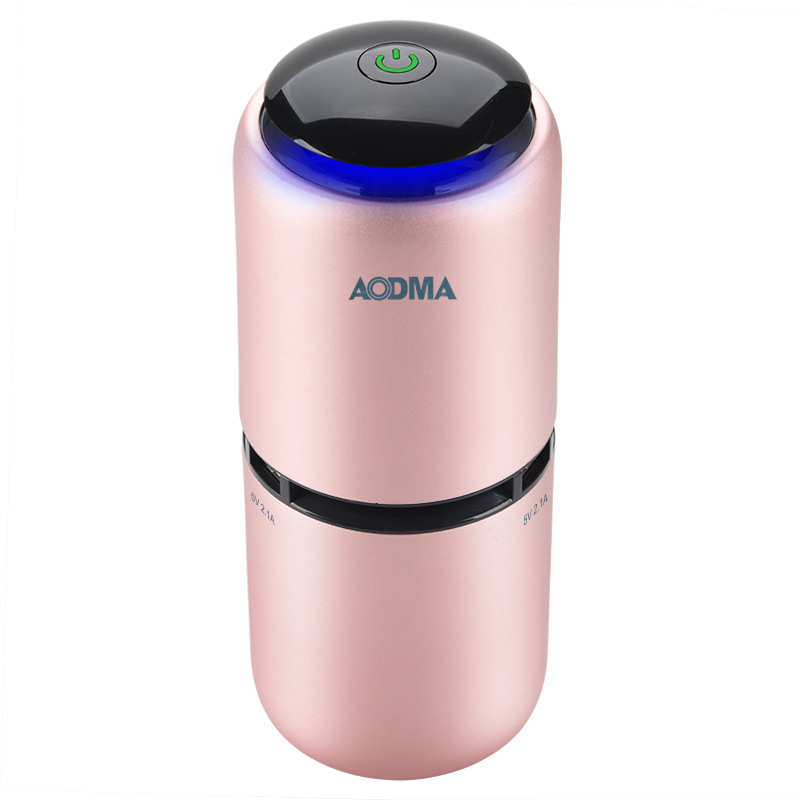 Best Air Purifier Cleaner Pink Portable Mini Auto Car Fresh Air Anion Ionic Purifier Oxygen Bar