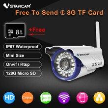 Vstarcam C7815WIP 720 P HD Беспроводной Пуля Wi-Fi Ip-камера Открытый Безопасности Водонепроницаемый ВИДЕОНАБЛЮДЕНИЯ Совместимость Бесплатный Отправить 8 ГБ TF Карты