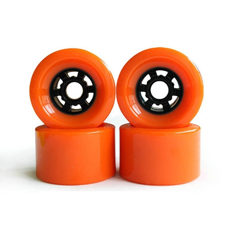 2019 New Arrival DIY 80mm 87mm 83mm 90mm 97mm Skateboard Wheel For SHR78A Red Color PU Wheels Soft Resistant Longboard Wheels