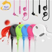 Küçük hediye büyük hoparlör ünitesi Şeker kulaklık cep telefonu kulaklık desteği mikrofon