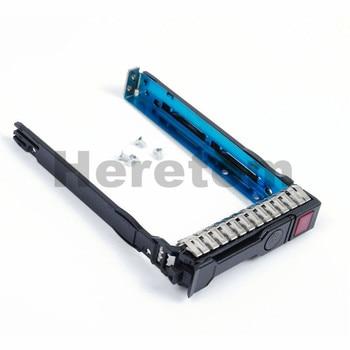 US/ UK/ AU Shipping New 2.5 SAS /SATA Hot-Swap HDD Tray Caddy 651687-001 For HP Gen8 Gen9 DL380 DL360 DL160 DL385 With Screws адаптер hp dl360 gen9 2p lp pcie slot cpu2 kit 764642 b21