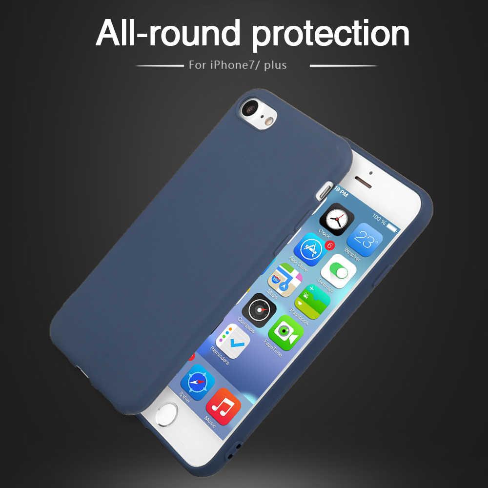 Yumuşak TPU telefon koruyucu iphone için kılıf XR XS MAX X 7 8 artı silikon iphone için kılıf 6 6s artı Xs Max geri Fundas kapak Coque