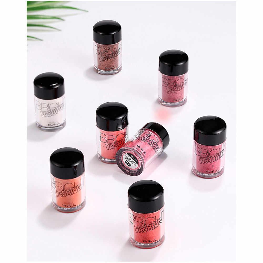 Eyeshadow glitter Eye Shadow Makeup Pearl Metallic Glitter Easy to draw  waterproof multiple colour Eyeshadow Powder