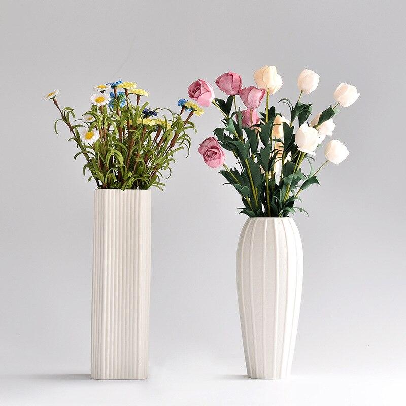 Home Decoration A Vase For Flowers Ceramic Tabletop Flower Vases For Decoration Living Room