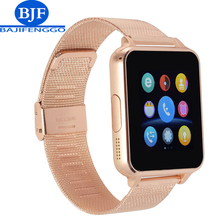 Bluetooth Smart Watch support SIM TF Card Smartwatch For Android phone whatsapp PK GT08 V8 steel Straps for Samsung/huawei phone
