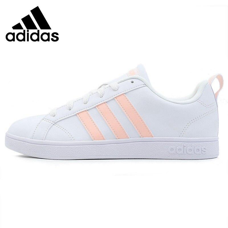Original Adidas VS ADVANTAGE Women's Tennis Shoes Sneakers Outdoor Sports Athletic Hard Wearing Shock Absorbant Light B42306