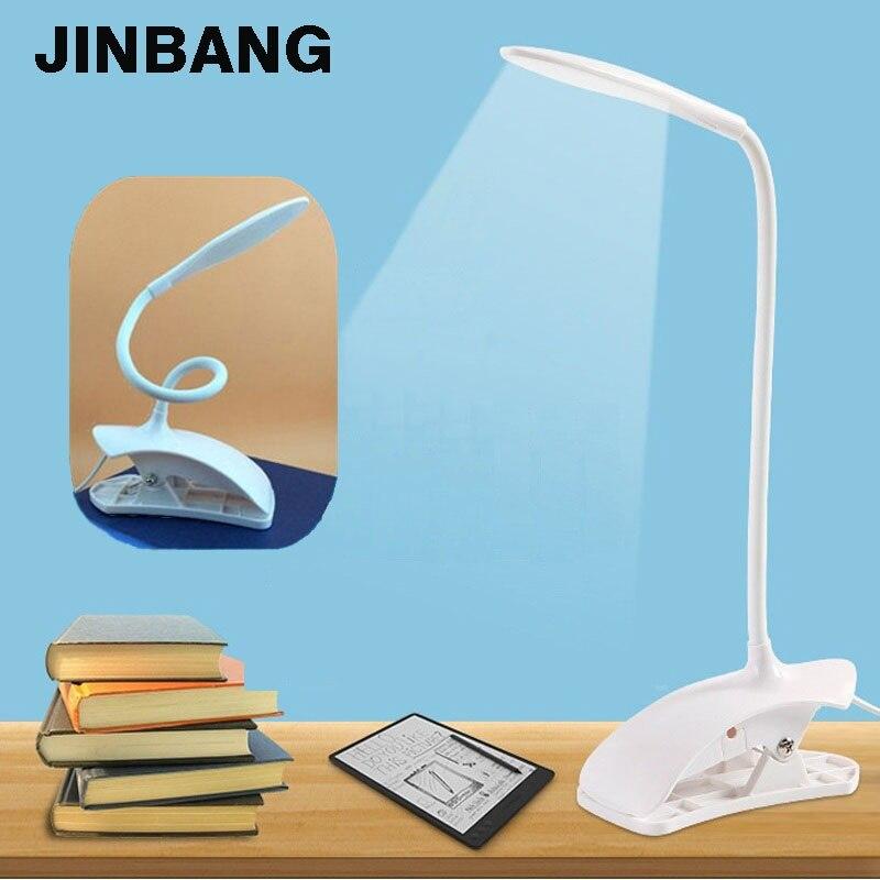 720 degree Bendable USB led table lamp Eye Protect Clamp Clip reading Table Light Led study desk lamp