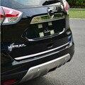 Hot Car Styling Puerta Trasera de Acero Inoxidable de la Cola Pegatina Para 2014 2015 NISSAN X-TRAIL x trail Xtrail coche accesorios